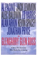 Glengarry Glen Ross - character names Wall Poster