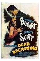Dead Reckoning Lizabeth Scott & Humphrey Bogart Fine-Art Print