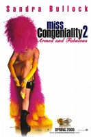Miss Congeniality 2: Armed and Fabulous Movie Wall Poster