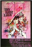 My Fair Lady - umbrella Wall Poster