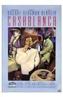 Casablanca Purple Wall Poster