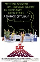 The Cat from Outer Space Wall Poster