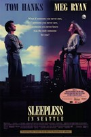 Sleepless in Seattle Wall Poster