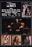 Godfather Part 2 Italian Wall Poster