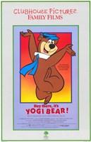 Hey There It's Yogi Bear Wall Poster