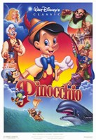 Pinocchio VHS Wall Poster
