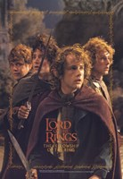 Lord of the Rings: Fellowship of the Ring Hobbits Fine-Art Print
