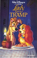 Lady and the Tramp Disney Classic Fine-Art Print