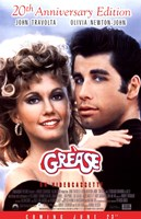 Grease 20th Anniversary on Videocassette Wall Poster