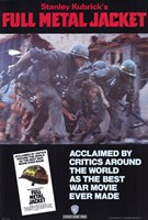 Full Metal Jacket Best Ware Movie Ever Wall Poster
