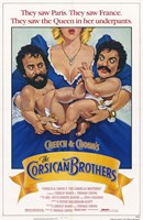 Cheech and Chong's the Corsican Brothers Wall Poster