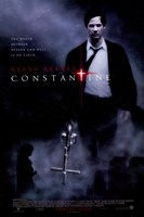 Constantine - carrying a cross Wall Poster