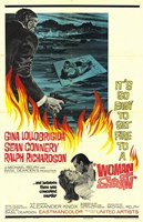 Woman of Straw Wall Poster