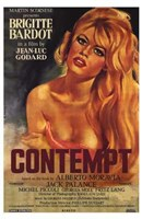 Contempt Wall Poster