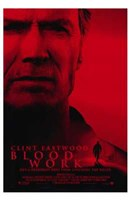 Blood Work Wall Poster