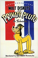Private Pluto Wall Poster