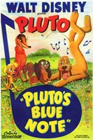 Pluto's Blue Note Wall Poster