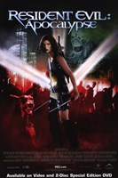 Resident Evil: Apocalypse Wall Poster
