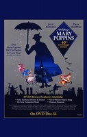 Mary Poppins Cast DVD Wall Poster