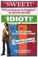 Napoleon Dynamite Sweet Idiot Wall Poster