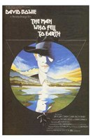 The Man Who Fell to Earth Bowie Wall Poster