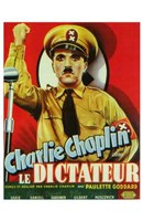 The Great Dictator - man holding up his fist Wall Poster