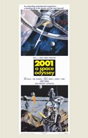 2001: a Space Odyssey Tall Wall Poster