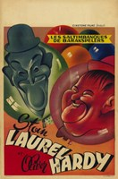 Laurel and Hardy's Laughing 20'S Wall Poster