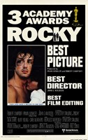 Rocky 3 Academy Awards Wall Poster