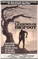 Legend of Bigfoot Wall Poster