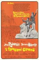 A Thousand Clowns Wall Poster