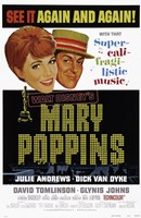 Mary Poppins Again and Again Wall Poster
