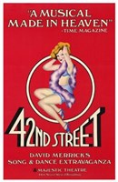 42Nd Street (Broadway Musical) Wall Poster