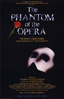 The Phantom of the Opera Broadway Musical Fine-Art Print