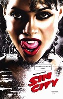 Sin City Roasario Dawson as Gail Close Up Wall Poster