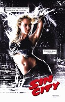 Sin City Jessica Alba as Nancy Wall Poster