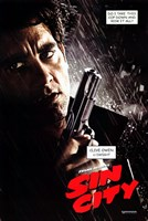 Sin City Clive Owen as Dwight Wall Poster
