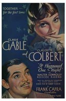 It Happened One Night Connoly And Carns Wall Poster