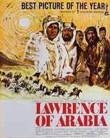 Lawrence of Arabia Drawing Wall Poster