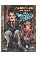 The Kid Caricature Wall Poster