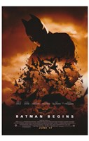 Batman Begins June 17 Wall Poster