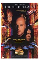 The Fifth Element Bruce Willis Wall Poster