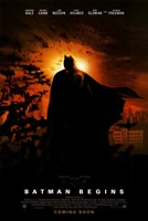 Batman Begins Coming Soon Wall Poster