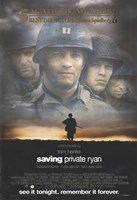 Saving Private Ryan - See it tonight. Remember it forever. Wall Poster