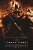 Batman Begins Liam Neeson and Kate Holmes Wall Poster