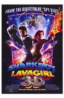 Adventures of Shark Boy Lava Girl in 3- Wall Poster