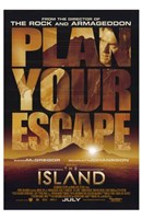 The Island - Plan your escape Wall Poster
