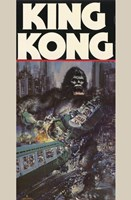 King Kong Crushing Train II Wall Poster