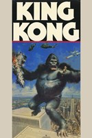 King Kong Holding Fay Wray Wall Poster