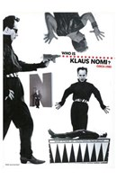 The Nomi Song - who is Klaus Nomi Wall Poster